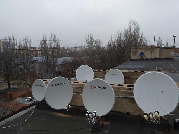 Установка спутниковых антенн, прошивка и ремонт тюнеров.