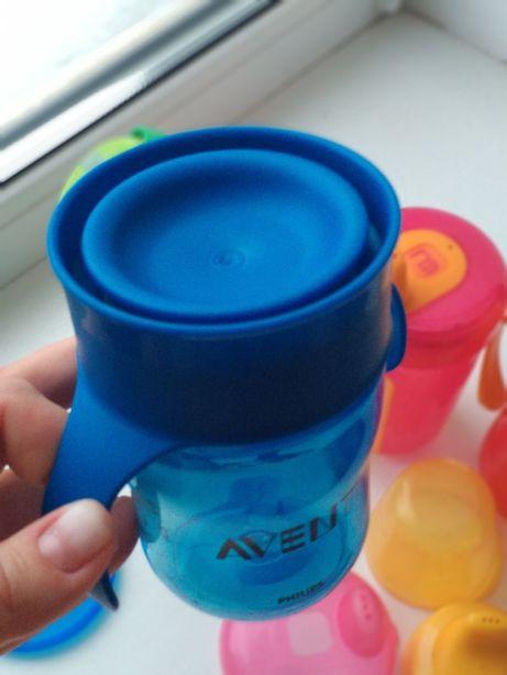 Бутылочка поильник непроливайка Avent