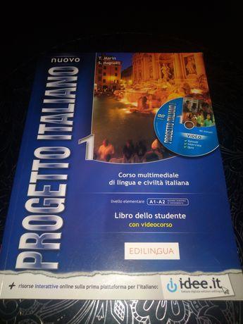Progetto Italiano edilingua 1 podręcznik do języka włoskiego