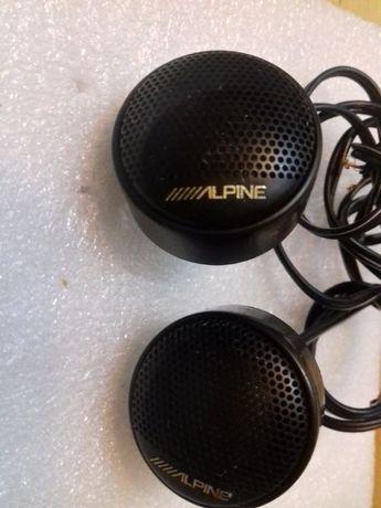 2x Alpine głośniki Tweeter SPS-1005 titanium
