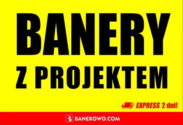 BANER • EXPRESS 1-2 dni! • B. MOCNE banery reklamowe • Projekt gratis