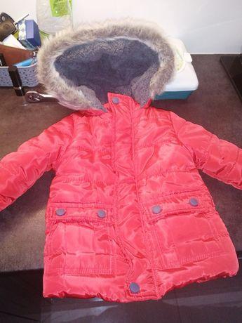 Sprzedam kurtke zimowa niemowlęca rozmiar 86