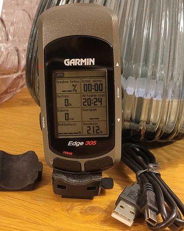 Garmin Edge 305 licznik na rower GPS trzyma 10 h