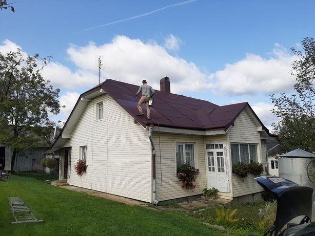 Фарбування даху Весняне бронювання