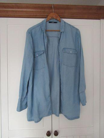 Luźna koszula jeansowa Bik Bok oversize S