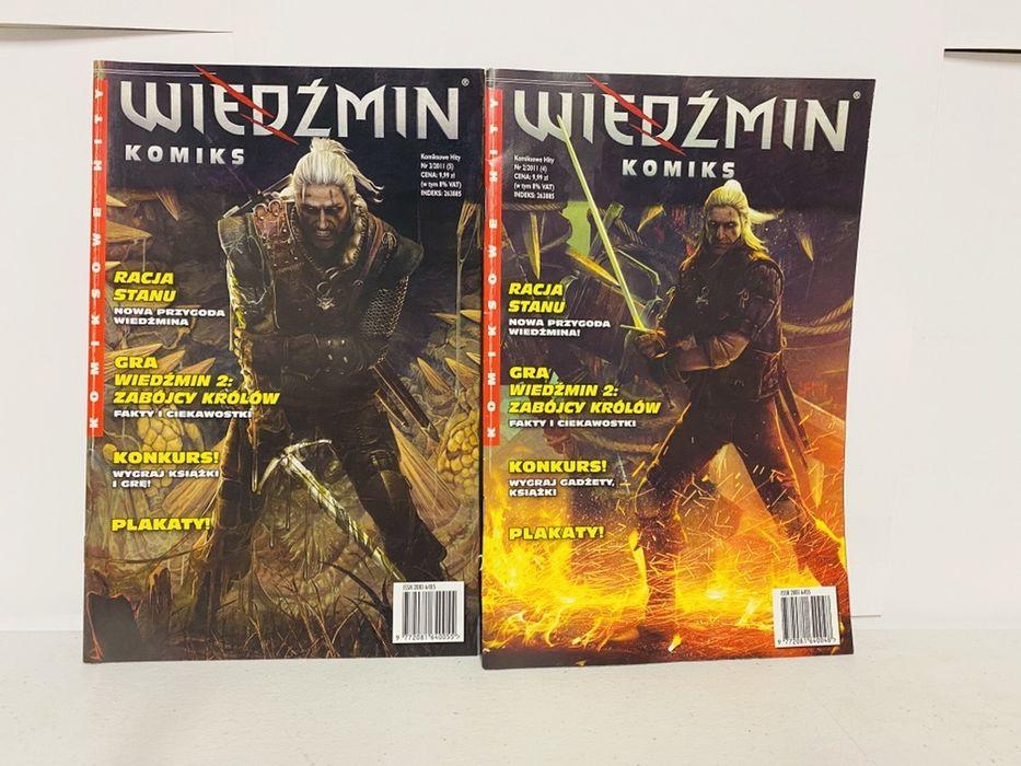 Wiedzmin t.1-2 komiks Warszawa - image 1