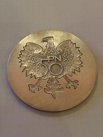 Medal 50 Lat Polskiej Normalizacji 1974.{ 300 szt. } Mennica Państwowa