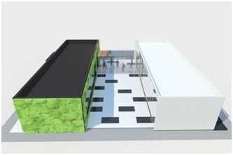 budynek, dom modułowy, kontenery użytkowe