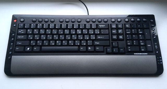 Мембранна клавіатура/мембранная клавиатура Modecom USB