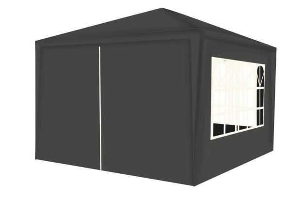 Pawilon Ogrodowy Handlowy Namiot 3x3m + 4 Ścianki