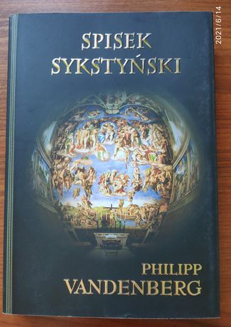 Książka Spisek Sykstyński - Philipp Vandenberg Tanio!