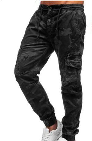 Spodnie męskie bojówki rozm od S do 2XL