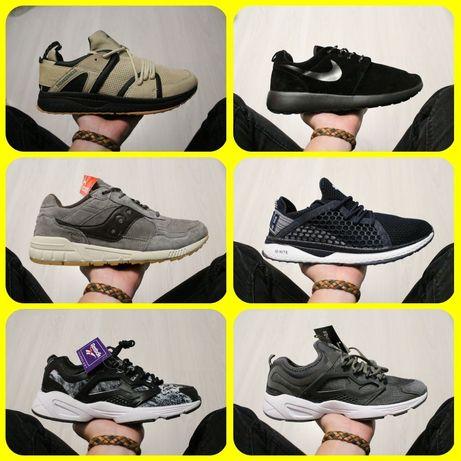 Распродажа Nike Asics Saucony Reebok New Balance кроссовки Adidas