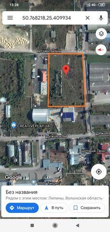 Продаж ділянки для комерційного будівництва