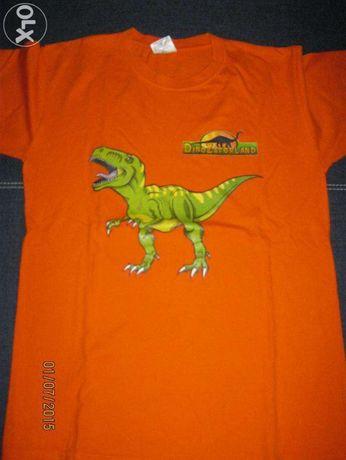 Koszulka z Dinozaurem 10-11 lat