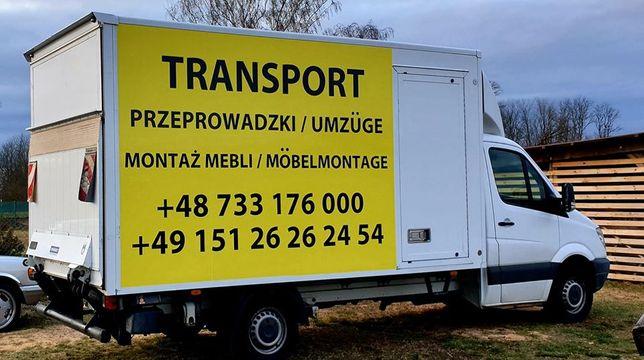 PRZEPROWADZKI transport MONTAŻ mebli skręcanie UTYLIZACJA bus Maxi