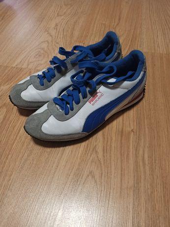 Buty Puma niebiesko białe
