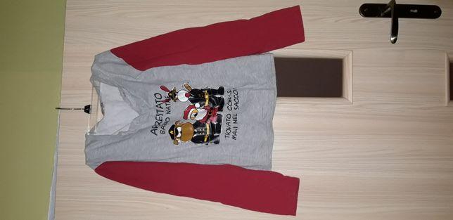 Piżamowa bluzka