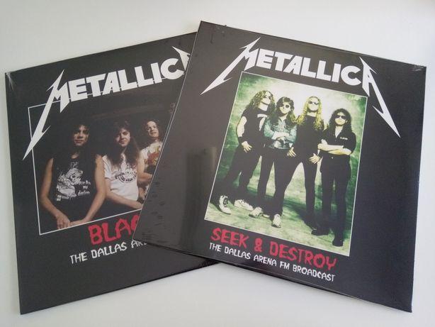 Disco Vinil 2LP Metallica – Live The Dallas Arena Novo Selado