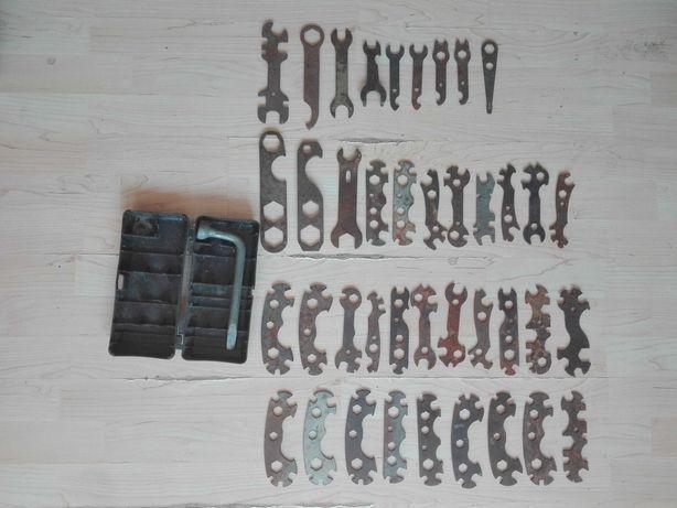 Stare klucze do motorów WSK, WFM, SHL, JAWA.