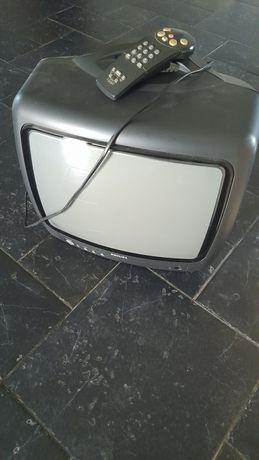Televisão Philips antiga