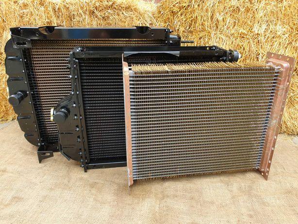 Радиатор водяной МТЗ Д-240/243 ЮМЗ Д-65 (сердцевина латунь) Оренбург