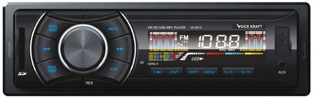 Radio Samochodowe Voice Kraft VK6215 4X50W USB/SD