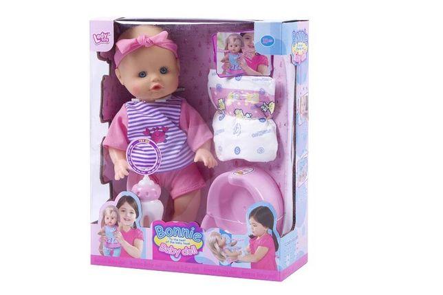 Lalka sikająca Bonnie z akcesoriami