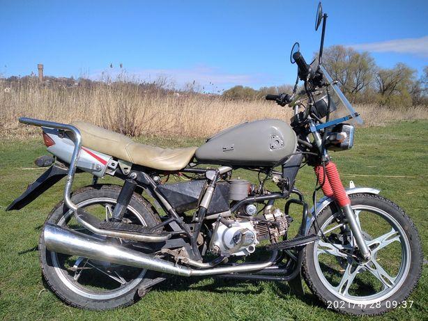 Мопед мотоцикл alfamoto