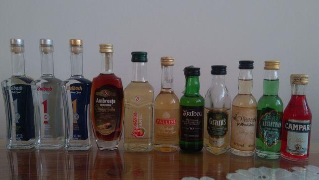 Miniaturki buteleczki kolekcjonerskie - małe, fajne, różne