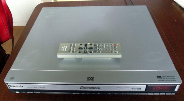 Odtwarzacz DVD Panasonic DVD-F65 5 DISC CHARGER