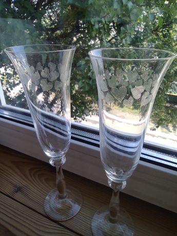 Бокали для шампанського в коробці 2 шт Bohemia Crystal