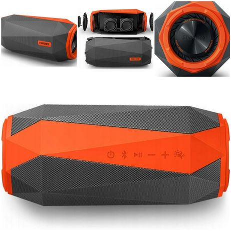 Głośnik mobilny PHILIPS SB500M Czarno-pomarańczowy