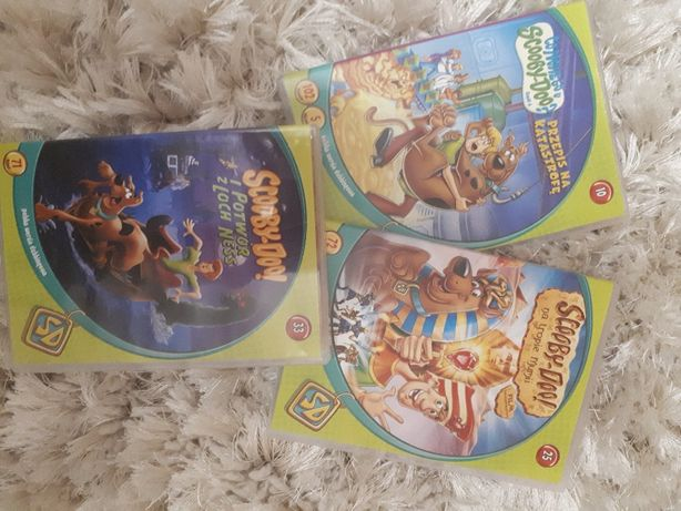bajki na DVD Scooby Doo różne