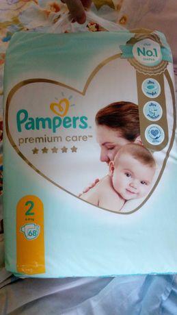 Подгузники + подарок Pampers Premium Care 2, 4-8кг 67шт