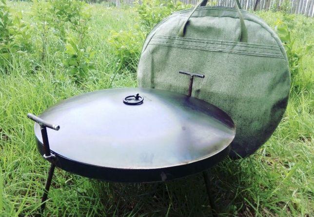 Сковорода из диска бороны, санж, мангал, жаровня, пательня для пикника
