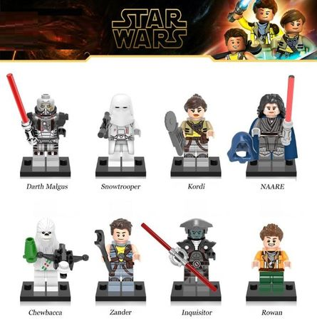 Bonecos minifiguras Star Wars nº21 (compativel com lego)