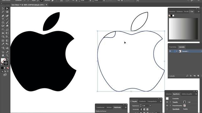 Vetorizar imagens, logotipos