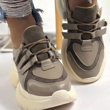 Кожаные кроссовочки НОВЫЕ