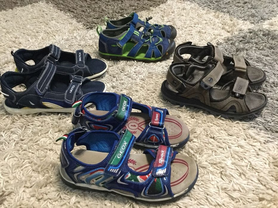Пакет фирменной обуви Geox, Nautica босоножки с Америки, сандали Ивано-Франковск - изображение 1