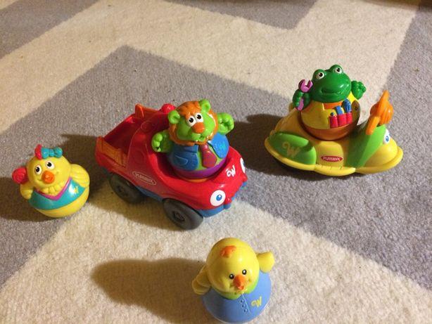 Playskool-pojazdy i wańki wstańki, zestaw dla malucha