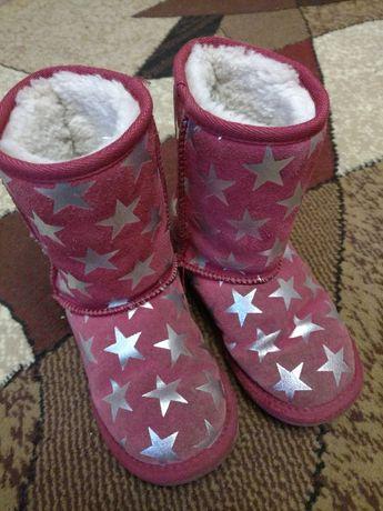 Обувь сапожки угги теплые сапоги зимние 29 р 18 см 150 грн