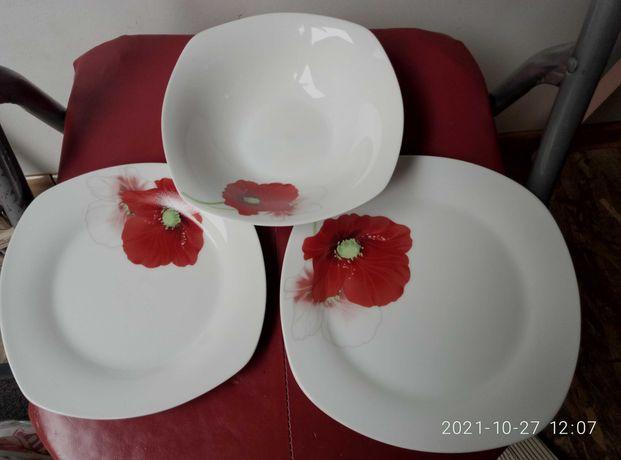 Набір тарілок столовий