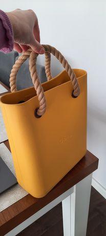 Obag torebka żółta