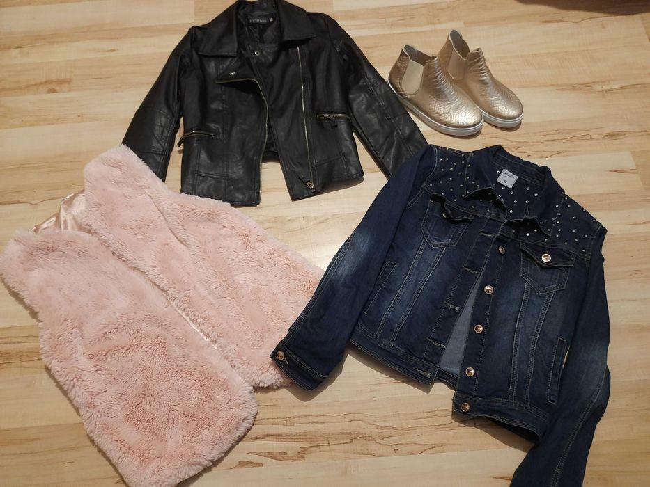 Ramoneska+kurtka+kamizelka+buty Dzierżoniów - image 1