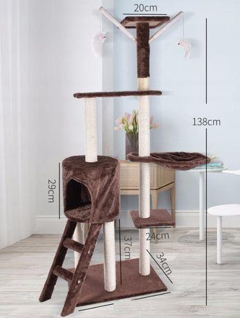 drapak dla kota 138 cm