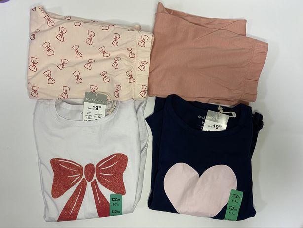 Пижамы для девочек размер 122