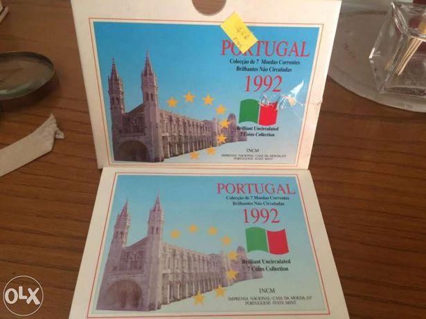 Moedas de Portugal 1992