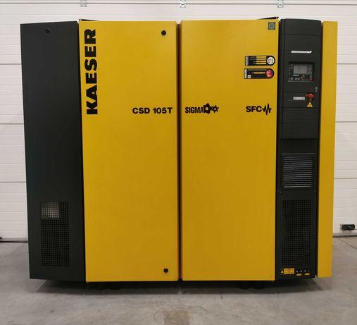 Sprężarka śrubowa 55kw +FALOWNIK!! kompresor KAESER CSD105T SFC 10m3