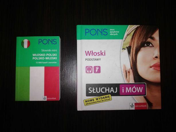 Włoski podstawy i mini słownik + płyty